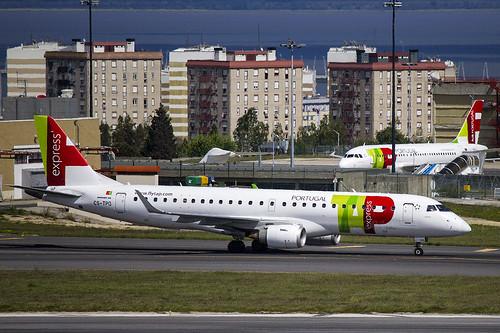 CS-TPO | Portugalia | Embraer ERJ-190LR (190-100LR) | CN 19000432 | Built 2011 | LIS/LPPT 01/05/2018 | ex PP-PJM