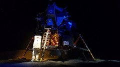 Grumman Lunar Module LM-13 - unused due to cancelation of Apollo 19  Mission schedule for 1973 (1)