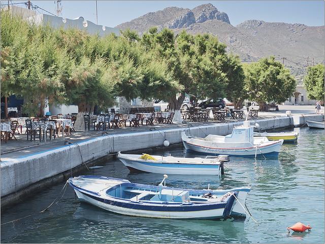 Harbour side tavernas