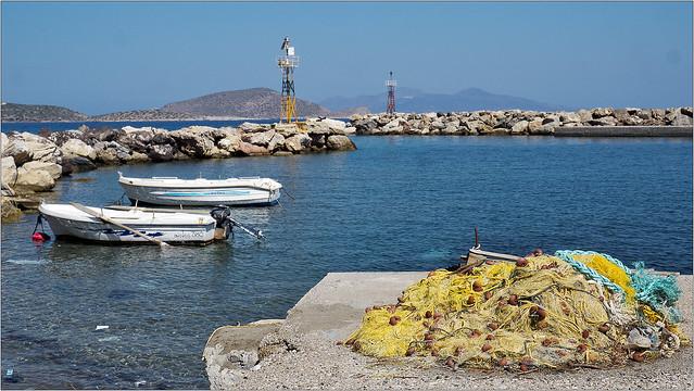 Agio Antoni harbour