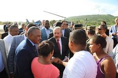 En Enriquillo, Danilo Medina entrega quinto Puesto Interagencial y da primer palazo construcción Escuela Vocacional