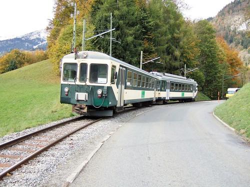 Trains de l'Aigle Sepey Diablerets (Suisse)
