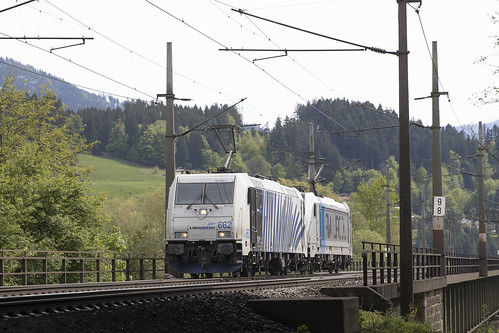 A Lokomotion 185 662-4 Langkampfen 07-05-2019