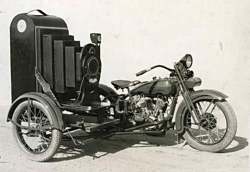Harley Davidson side.