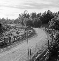 An old country road, Vena, Småland, Sweden