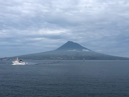 Mount Pico from Faial