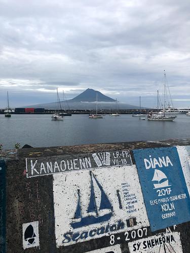 Sailor graffiti Horta