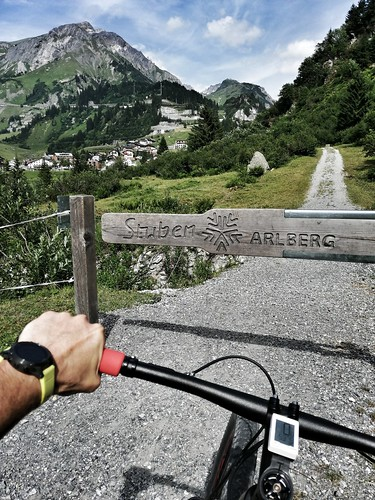 St. Anton am Arlberg Biking 2019