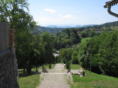 View from Mariatrost Basilica
