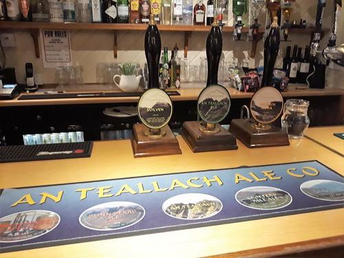 An Teallach Ale Line Up, Summer Isles Hotel, Achiltibuie 2018
