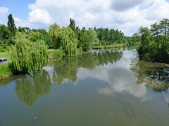 Aubterre - river Dronne - Photo of Saint-Avit