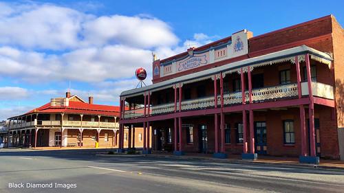 Queensland Hotel & Barmedman Hotel, Barmedman, South West, NSW
