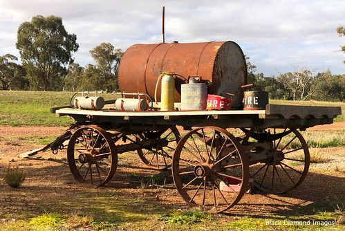 Old Fire Wagon, Hill St, Mirool, South Western , NSW