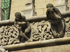 Gargoyles on Notre-Dame