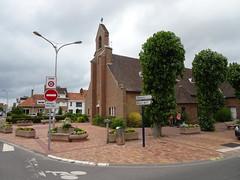 Braye-Dunes L'église du Sacré-Cœur