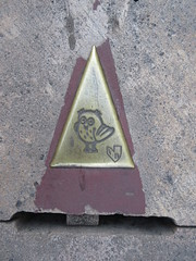 Owl's Trail marker