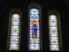 Villebois - Église Saint-Romain, stained glass