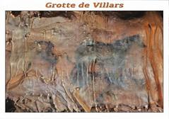 grotte de villars cave painting, horses