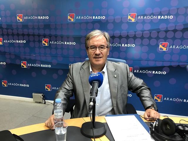 Entrevista en Aragón Radio