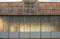 Unrestored hangar