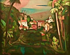 Sintra Landscape (1956)- Eduardo Viana (1881-1967)