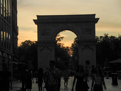 Porte Guillaume at sunset
