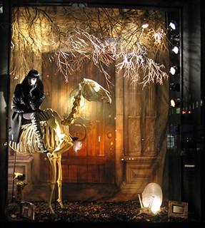 Животные. Осеннее оформление витрин