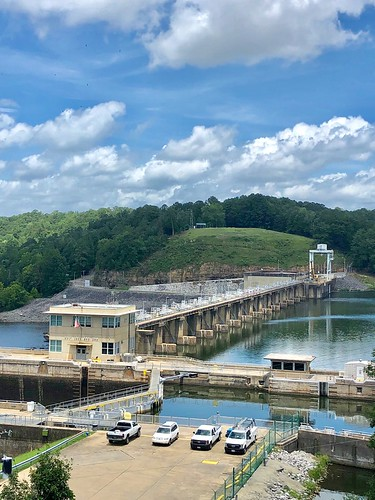 Holt Lock & Dam, on the Warrior River just upstream from Tuscaloosa, Alabama.