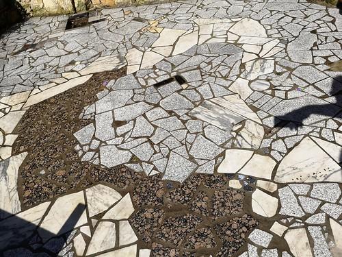 Mosaik Ausgebessert