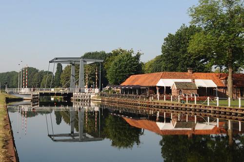 ophaalbrug over het kanaal Almelo - De Haandrik