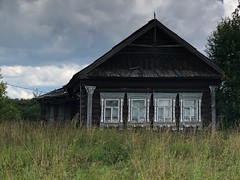 в деревне в июле 2019
