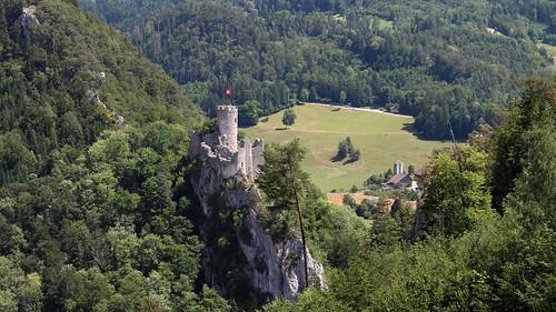 Ruine Neu-Falkenstein im Balsthal