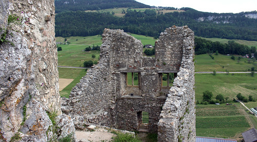 Auf der Burgruine Neu-Falkenstein