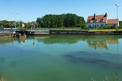 Arleux.- le Canal du Nord (2) - Photo of Abancourt
