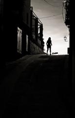 Siluetas en la calle (Proyecto personal).