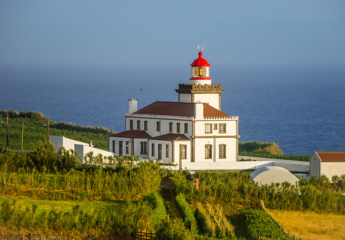 Ponta da Ferraria Lighthouse.