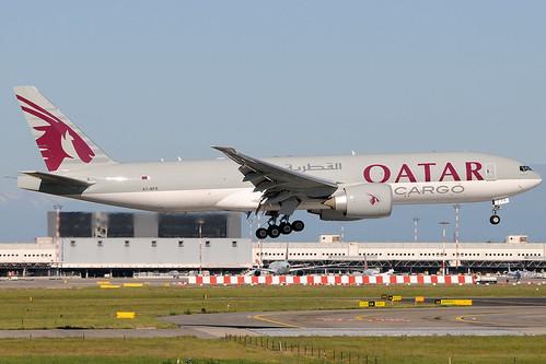 A7-BFE - Boeing 777-FDZ - Qatar Airways Cargo 🇶🇦 @ MXP