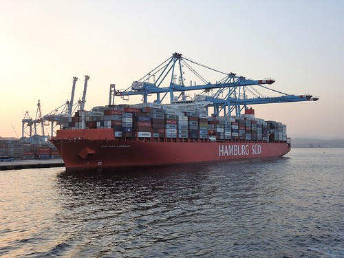CAP SAN LORENZO Container Ship - Flag: Denmark - APM Terminals - Algeciras Port - Spain