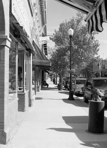 Sidewalk, Main Street, Sheridan