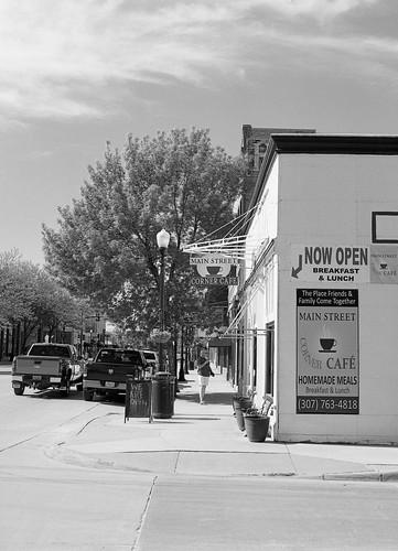 Corner Café, Main Street, Sheridan