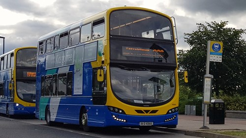 Go Ahead Ireland Wright Gemini 11581 (191-D-40865) on Route 238 at Blanchardstown Shopping Centre on Friday afternoon, 26th July, 2019.