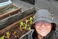 Image by Johanne Daoust (johanne_daoust) and image name Selfie with insulated bed roof May 2019 photo  about