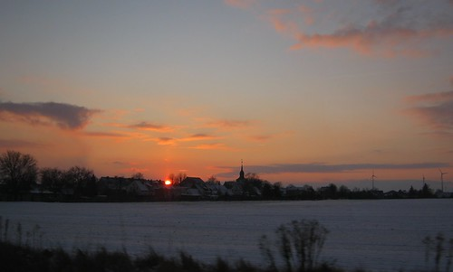 Eickendorfer Sonnenuntergang