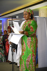 DSC_5103 The First Lady of Nigeria Her Excellency Aisha Buhari opening the Awards Gala Dinner at the African Ambassadors & Diaspora Interactive Form AAIF United Nations buildings International Maritime Organization HQ IMO London