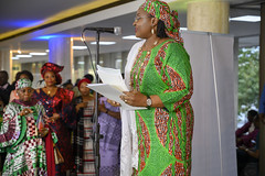 DSC_5087 The First Lady of Nigeria Her Excellency Aisha Buhari opening the Awards Gala Dinner at the African Ambassadors & Diaspora Interactive Form AAIF United Nations buildings International Maritime Organization HQ IMO London