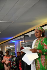 DSC_5104 The First Lady of Nigeria Her Excellency Aisha Buhari opening the Awards Gala Dinner at the African Ambassadors & Diaspora Interactive Form AAIF United Nations buildings International Maritime Organization HQ IMO London