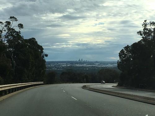 Perth CBD in Distance