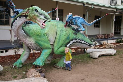 Harriet, 2019-06-07, National Dinosaur Museum  IMG_2595