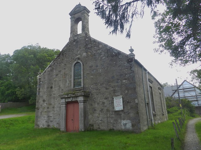 Tomatin Free Church, Tomatin, June 2019