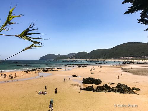 Playa de Trengandín, Noja, Cantabria.